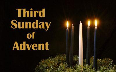 Worship Resources: Sunday, December 13, Third Sunday in Advent